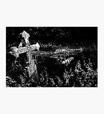 Forgotten Headstones Photographic Print