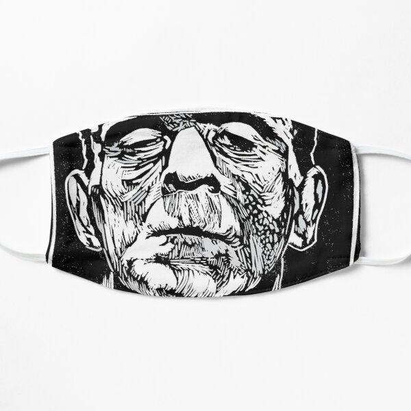 Fearless and Powerful Frankenstein Flat Mask