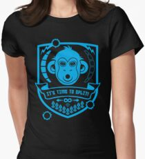 IT'S TIME TO SPLIT! Women's Fitted T-Shirt