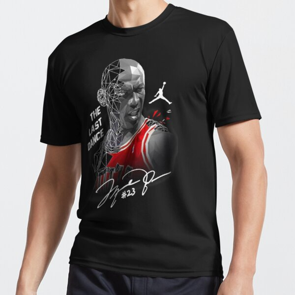 The Last Dance 23 Shirt Vintage Michael Jordan Cigar Active T-Shirt