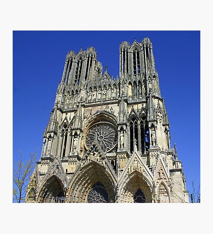 Cathedral Notre Dame de Reims Photographic Print