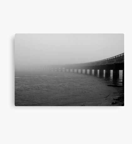 The Fog of Silence Canvas Print