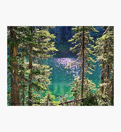 Hall Lake Photographic Print