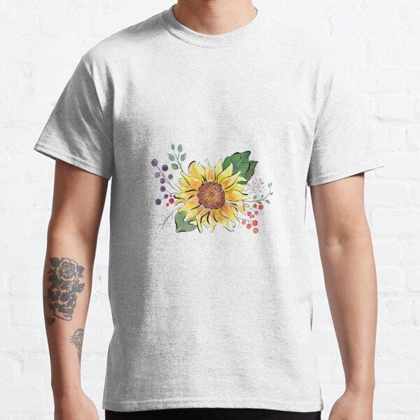 Sunflowers watercolours by Annalisa Amato Classic T-Shirt