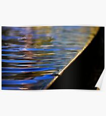 Abstract - Landscape reflections  Poster
