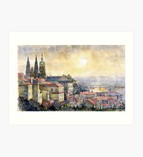Dawn of Prague  Art Print