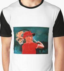 Justine Henin Painting Graphic T-Shirt