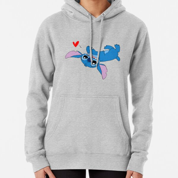 Stitch Loves All Sudadera con capucha