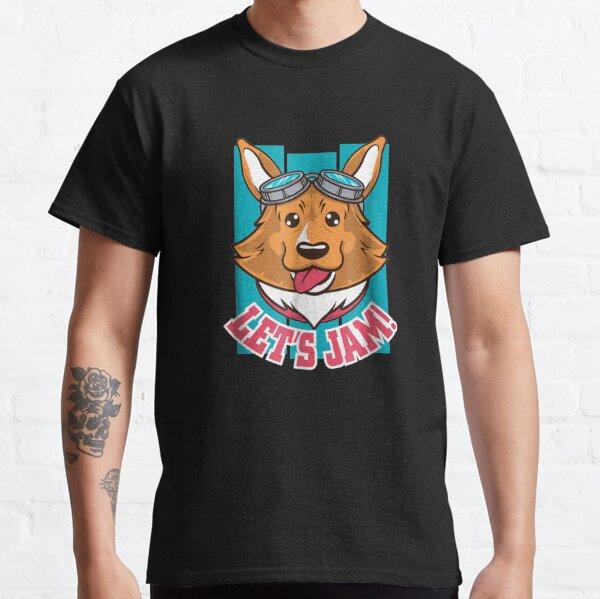 Let's Jam   Corgi Dog Classic T-Shirt
