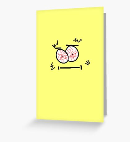 Monster v Greeting Card