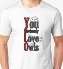 YOLO - You Obviously Love Owls T-Shirt