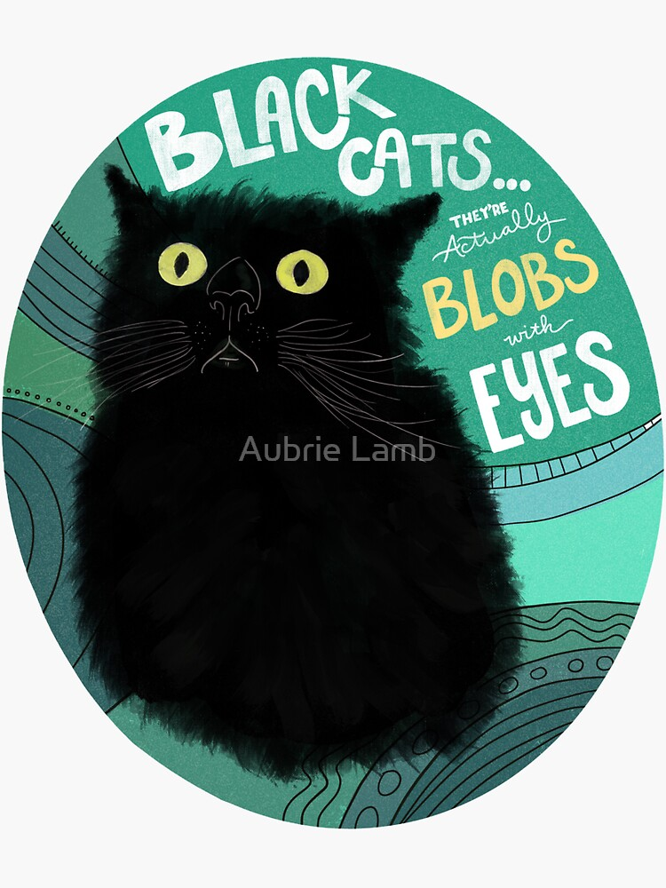 Black Cats Are Blobs by Aubb