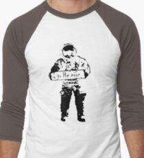 to the moon Men's Baseball ¾ T-Shirt