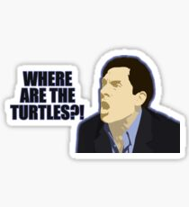 Where are the turtles? Sticker
