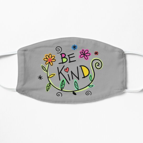 Be kind word saying design masks for men women kids  Mask