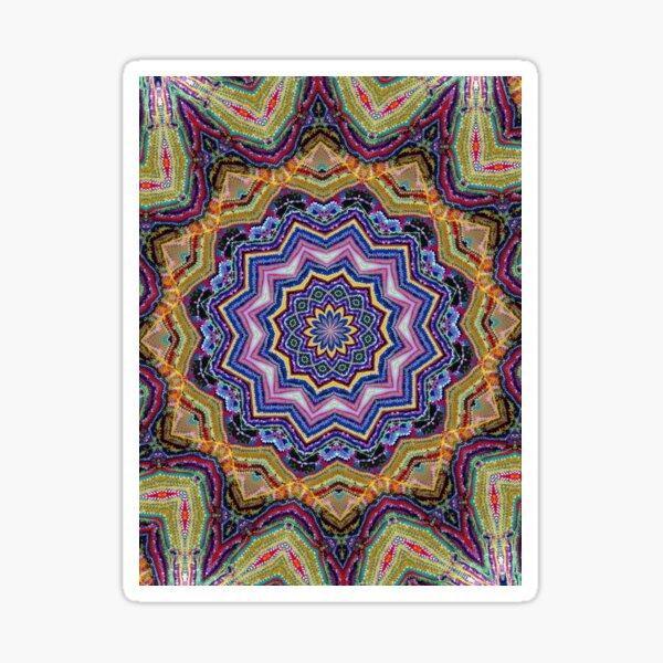 Crochet floating Sticker
