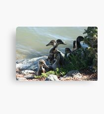 Family Photo Canvas Print