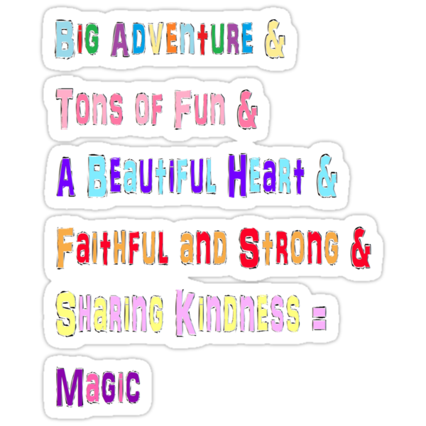 Mane 6 colorful Phrases! by Nardly