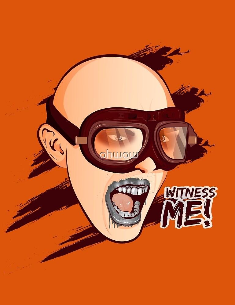 Witness Me by ohwow