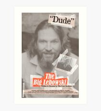 The Big Lebowski Tabloid Art Print