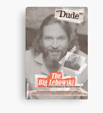 The Big Lebowski Tabloid Canvas Print