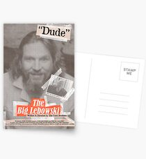 The Big Lebowski Tabloid Postcards