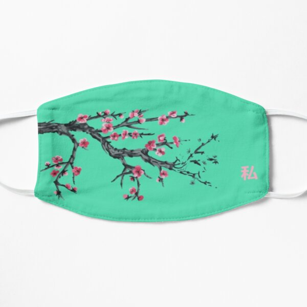 Cherry Blossom Flat Mask