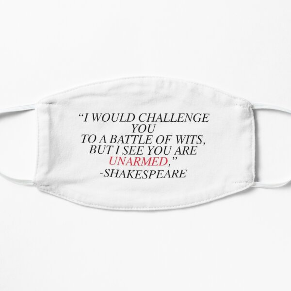 Shakespeare-Battle of Wits Mask