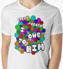 Every Breath  Men's V-Neck T-Shirt