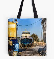 Dry Dock, Ventura Harbor, Ventura, CA Tote Bag