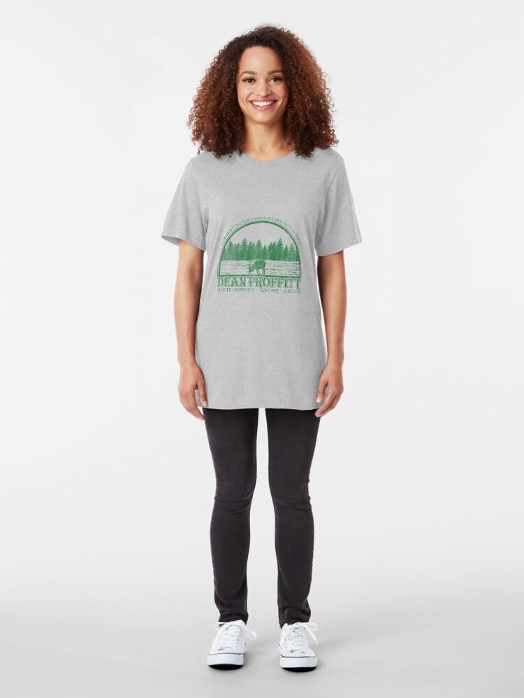 Vista alternativa de Camiseta ajustada Al agua