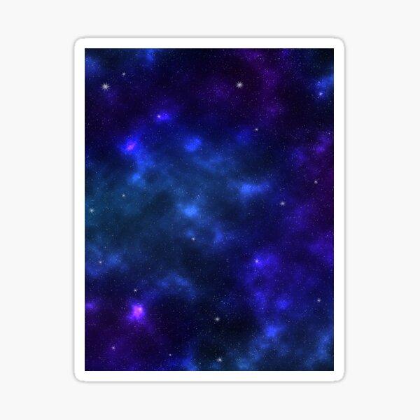 Shades of the Deep Galaxy Sticker