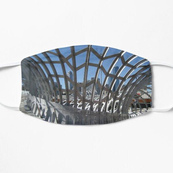 Webb Bridge, Melbourne Flat Mask