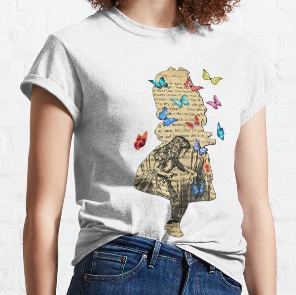 Alice In Wonderland - Vintage Wonderland Book Classic T-Shirt