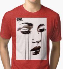 untitled face #5 Tri-blend T-Shirt