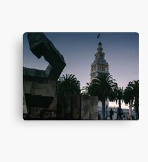 Ferry Building II Canvas Print