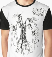 'David Lynch Family Tree' Graphic T-Shirt
