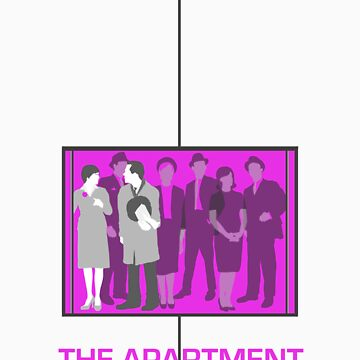 The Apartment (1960) Elevator Shirt by guiltycubicle