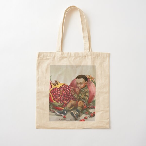 Pomegranate beads Cotton Tote Bag