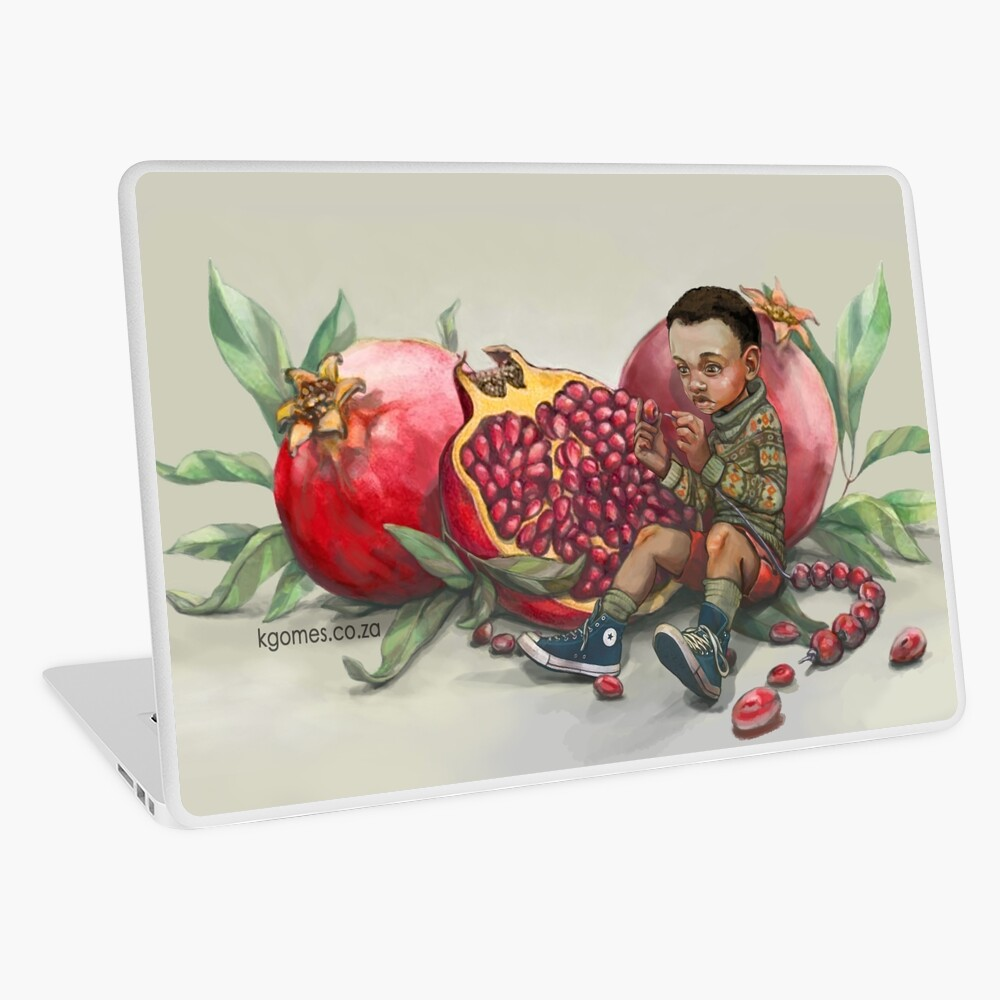 Pomegranate beads Laptop Skin