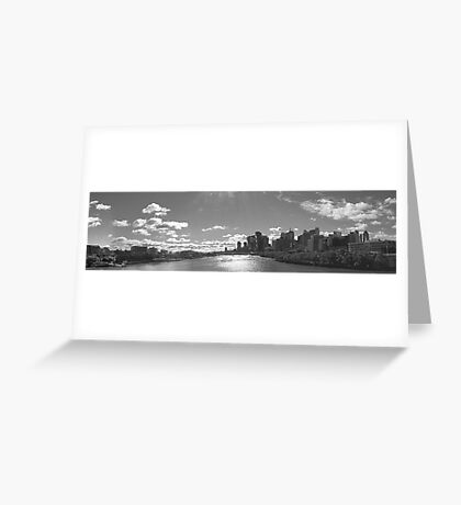 Brisbane City and Southbank Greeting Card
