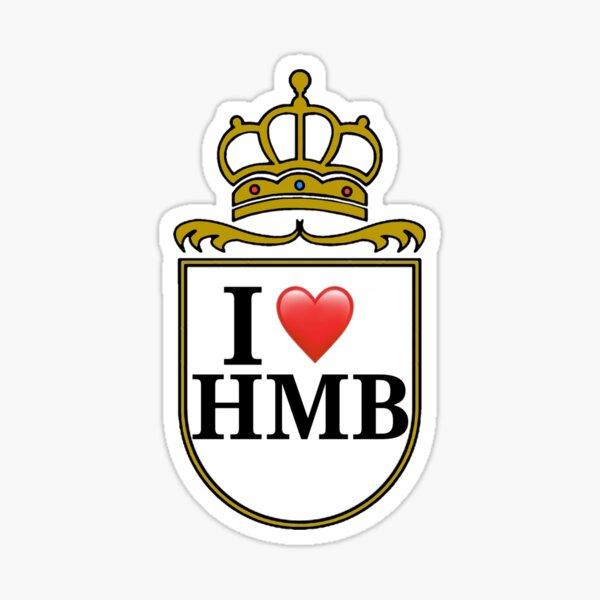 I Love HMB Sticker