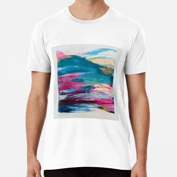 wave painting Premium T-Shirt