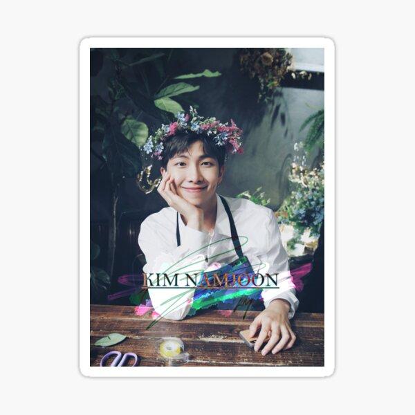 BTS - Kim Namjoon (florists) Sticker