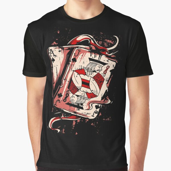 Playing To Win Ace and Jack of Spades Graphic T-Shirt