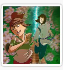 Chihiro & Haku Sticker
