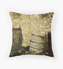 Barrels Throw Pillow
