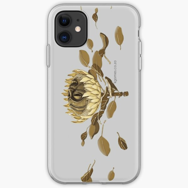 Protea Mask iPhone Soft Case