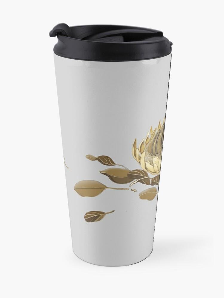 Alternate view of Protea Mask Travel Mug
