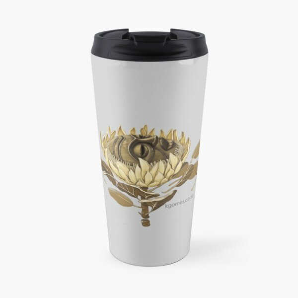 Protea Mask Travel Mug